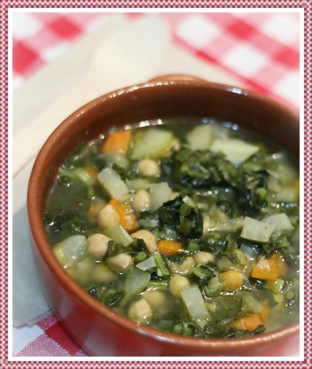 Zuppa di cavolo nero e ceci 2