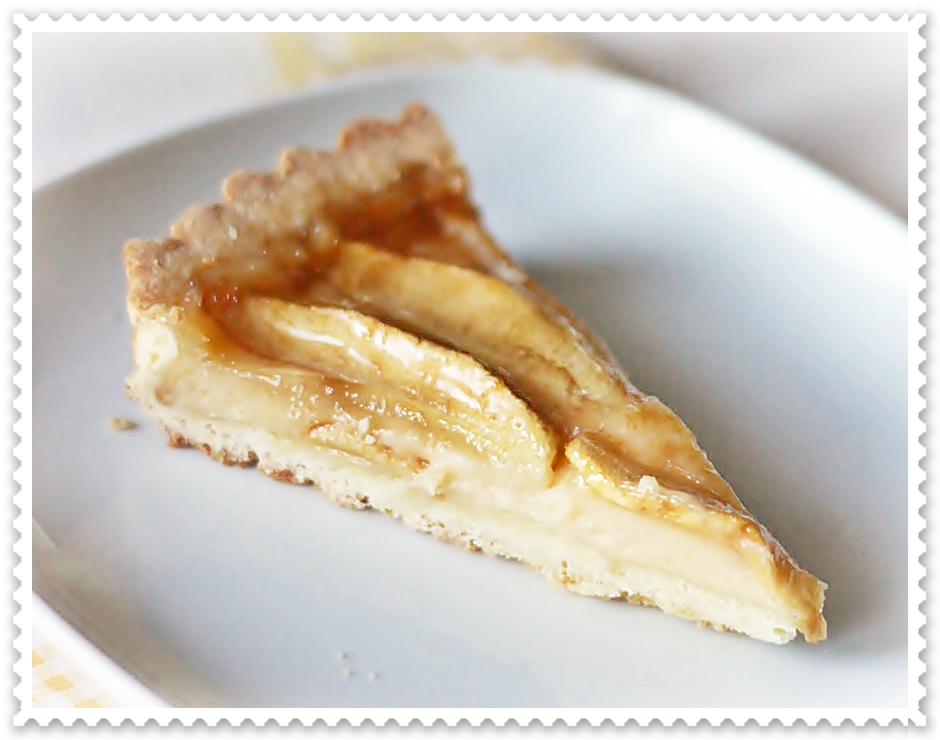 Ginger Apple Torte Recipe — Dishmaps