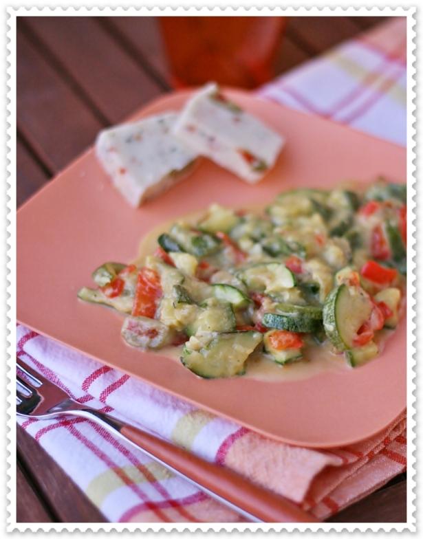Zucchine e peperoni al nebrolat 3