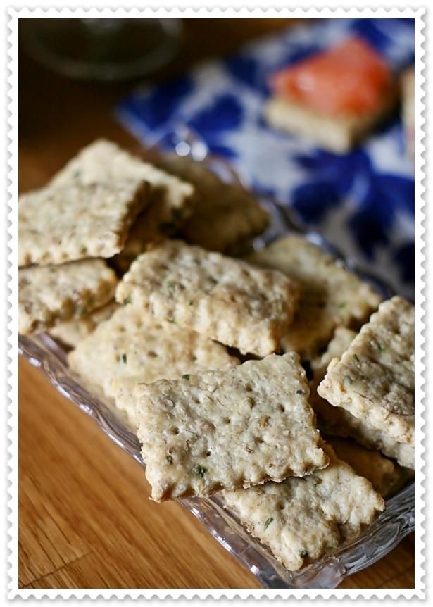 Biscotti salati salmone 2