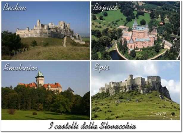 Slovacchi castles