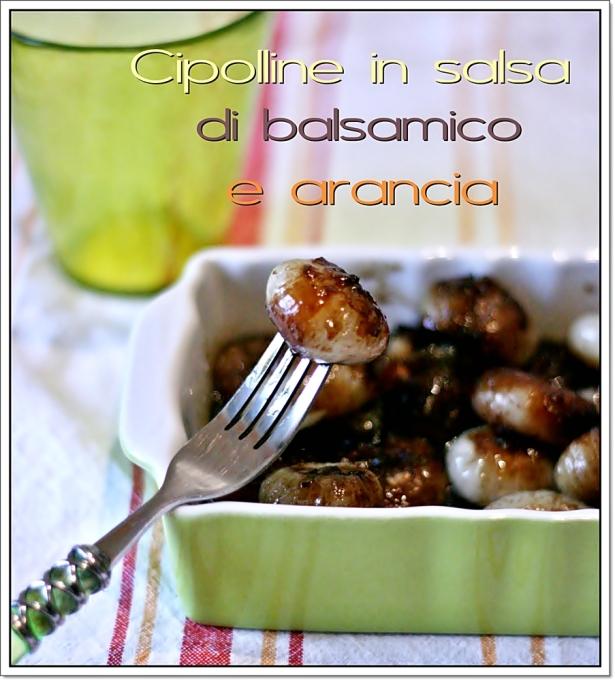 cipolline in salsa di balsamico e arancia
