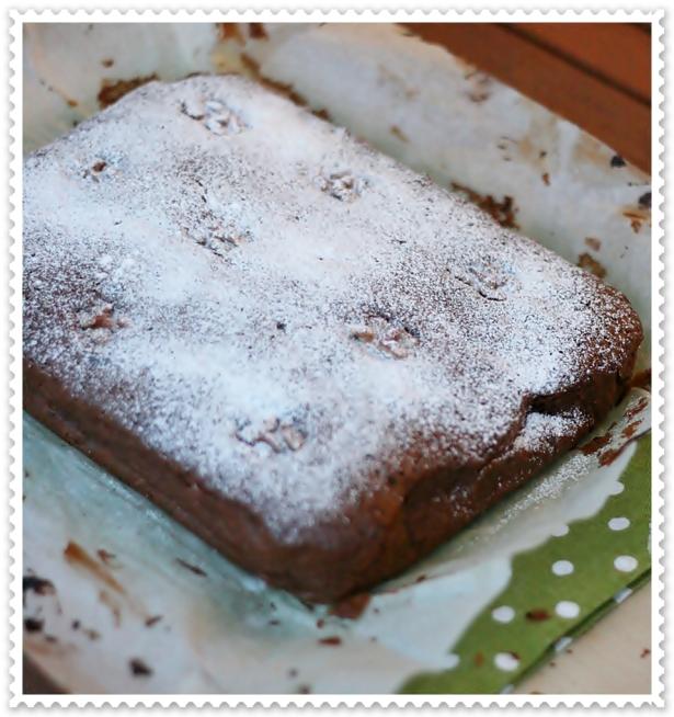 Torta di pere cioccolato e noci 4