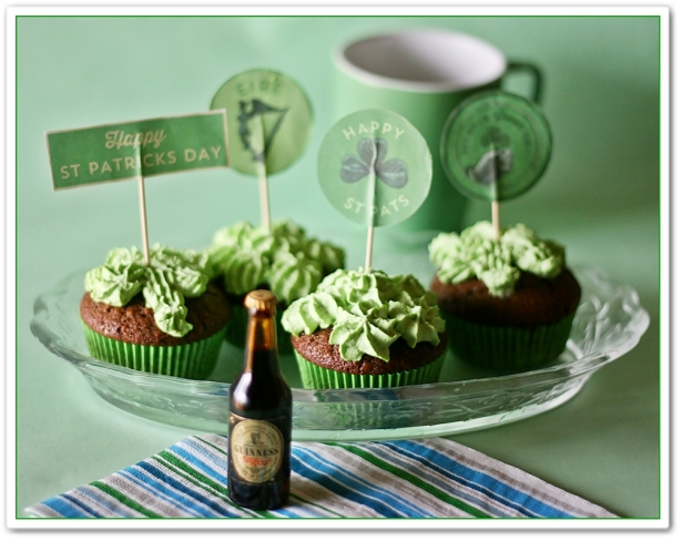 Gingerbread guinness cupcakes 6