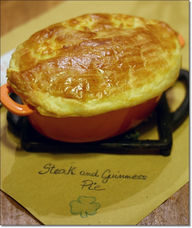 Steak and guinness pie 2