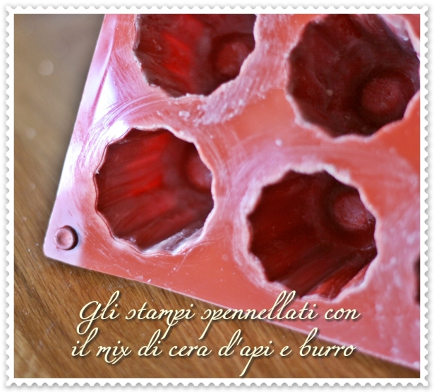 Canelés - stampo spennellato