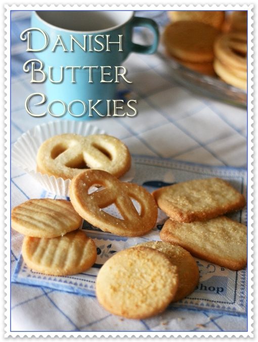 Danish butter cookies 4