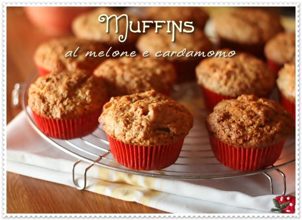 Muffins al melone e cardamomo 2