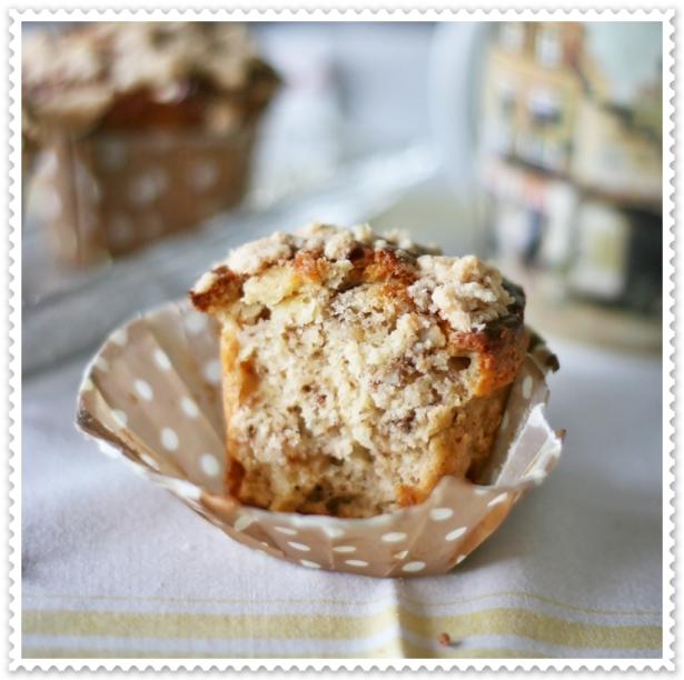 Muffins alla banana e noci 4