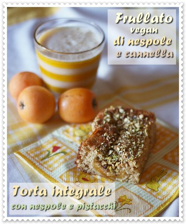 torta nespole + frullato