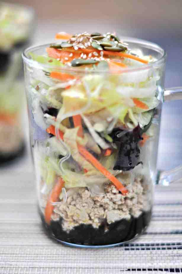Steam Vegan Salad