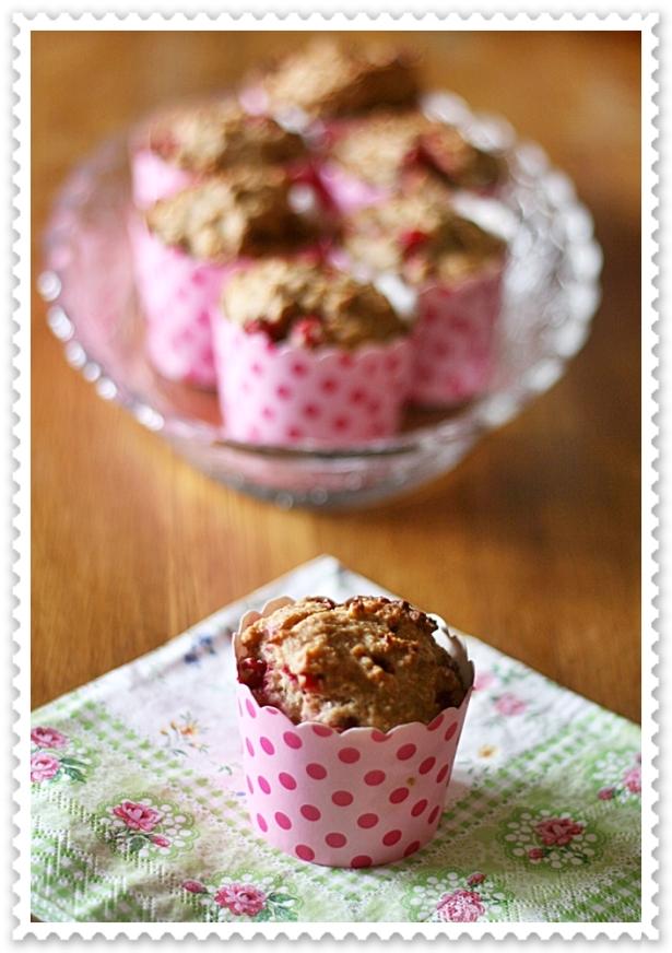Muffins vegan ribes e cocco 3