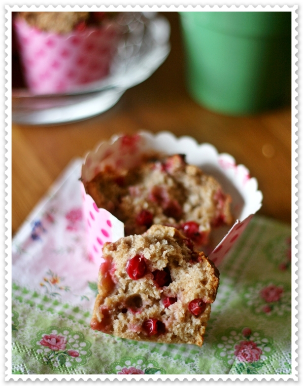 Muffins vegan ribes e cocco 4
