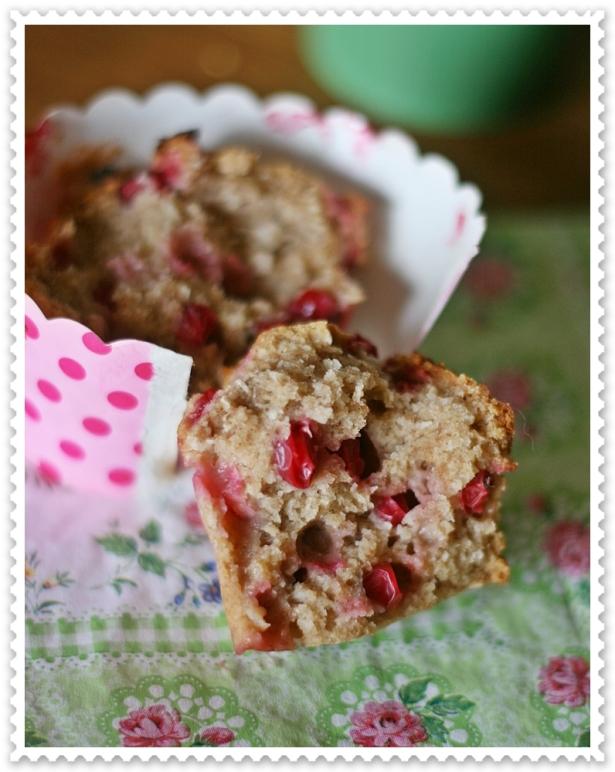 Muffins vegan ribes e cocco 5