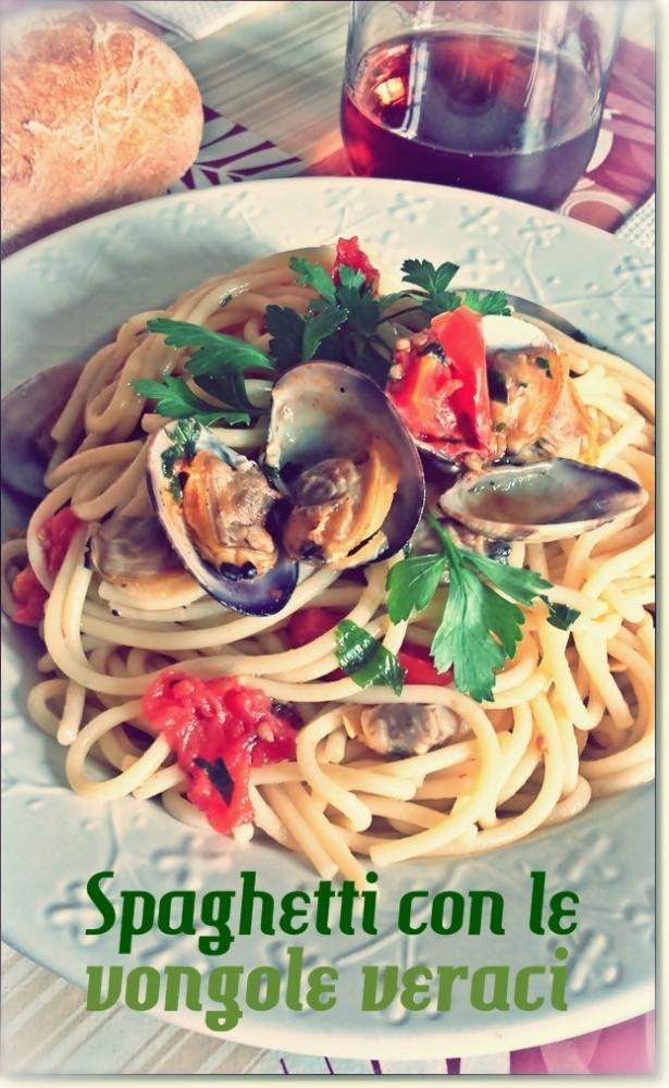 Spaghetti con vongole veraci 2