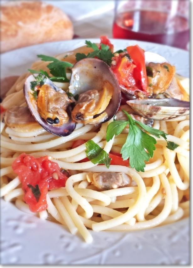 Spaghetti con vongole veraci 3