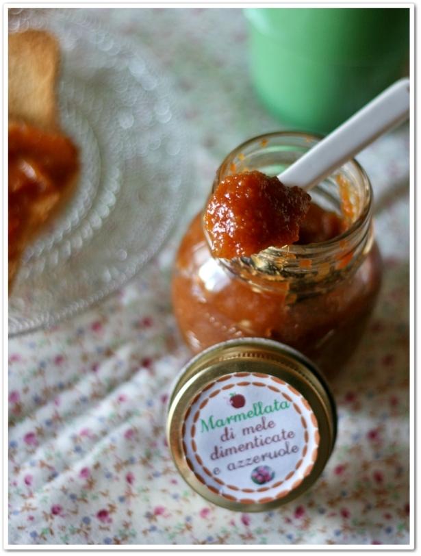 Marmellata di mele e azzeruole 3