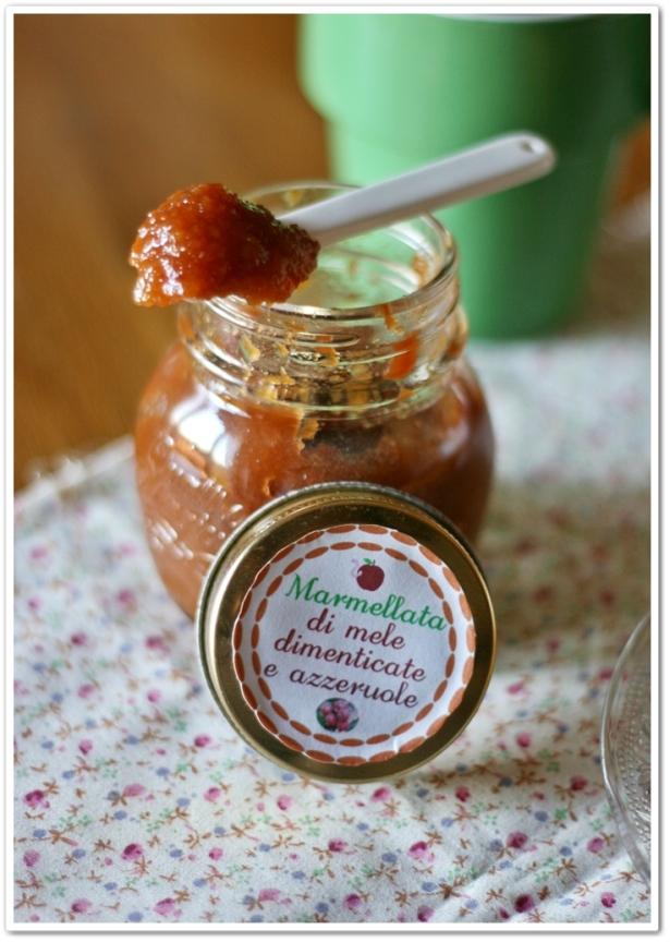 Marmellata di mele e azzeruole 4