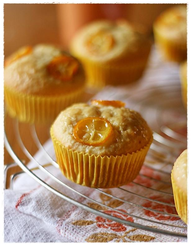 Muffins vegan agrumi e mandorle 3