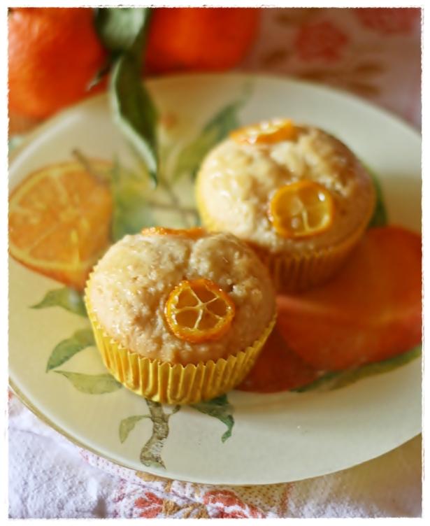 Muffins vegan agrumi e mandorle 4