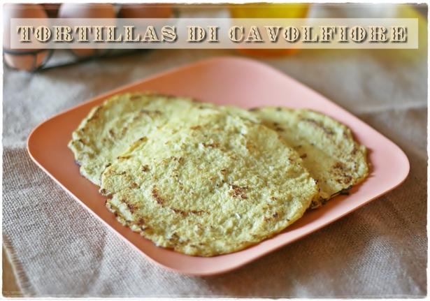 Tortillas di cavolfiore