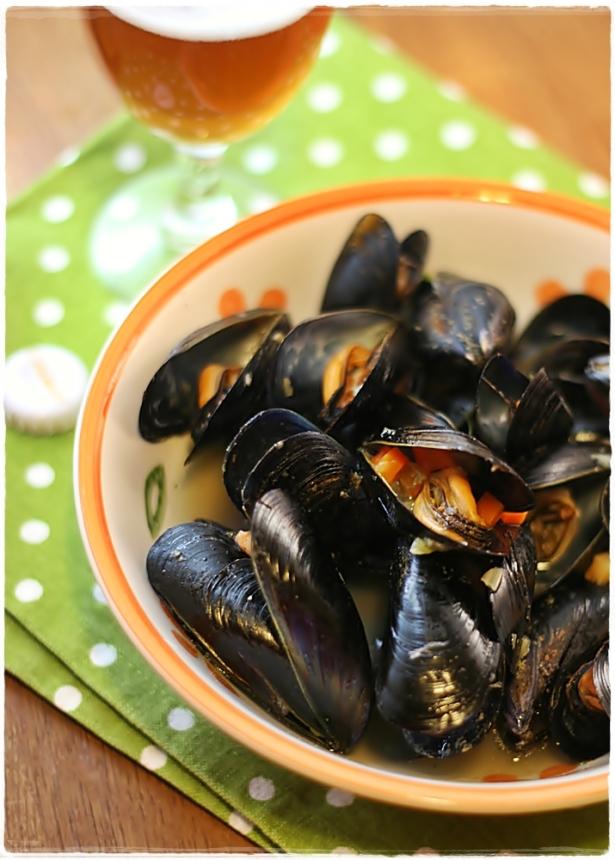 moules la bi re trappiste cozze alla birra trappista belga mussels in belgian trappist. Black Bedroom Furniture Sets. Home Design Ideas
