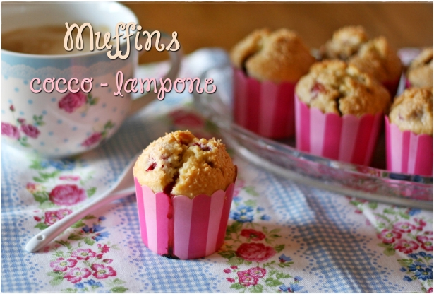 Muffins cocco-lampone 5