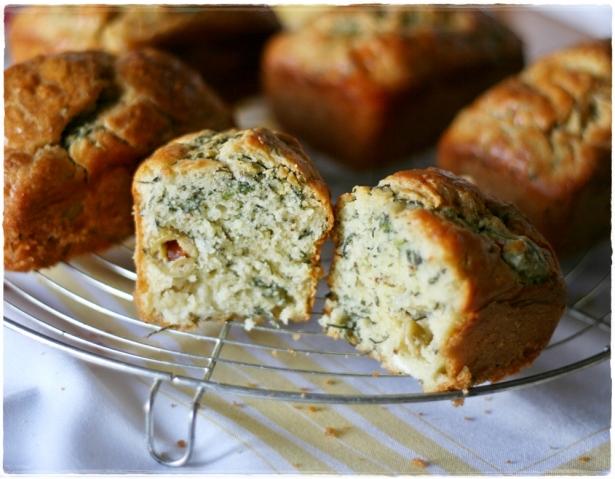 Minicakes agretti e olive