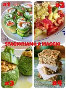 Stagioniamo - maggio - zucchine