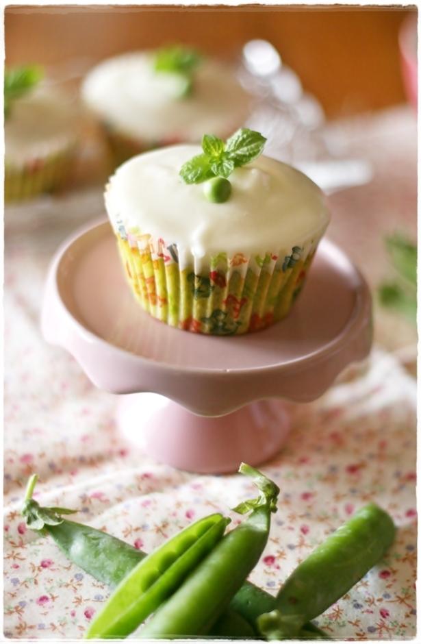 Cupcakes piselli e menta3