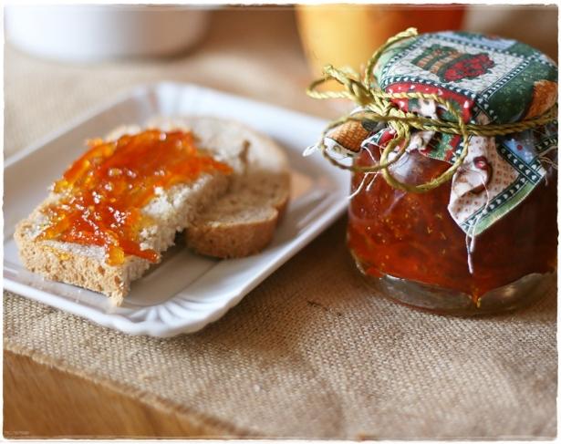 Marmellata arance amare e fiori di sambuco