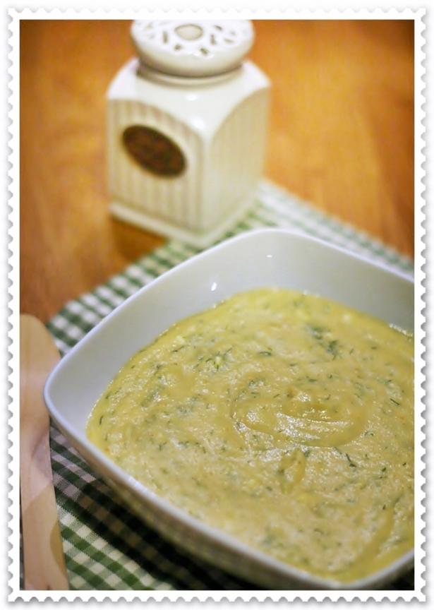 Zuppa di verdure polacca all'aneto 2