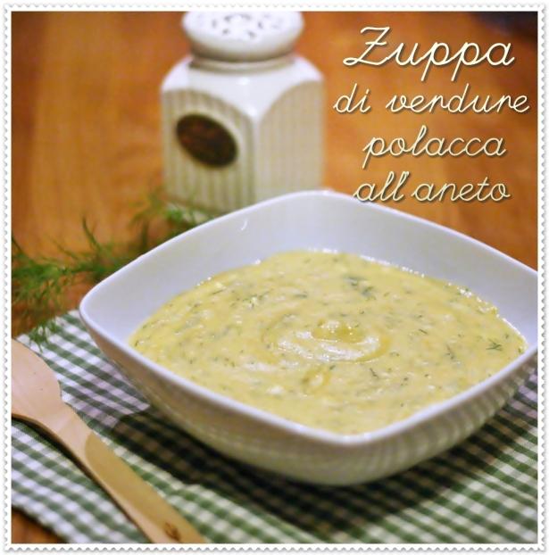 Zuppa di verdure polacca all'aneto 4