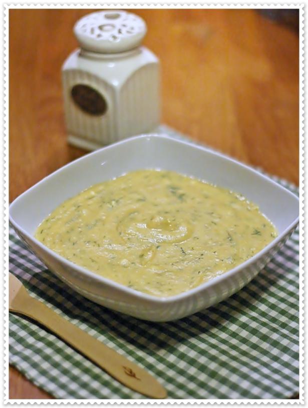 Zuppa di verdure polacca all'aneto