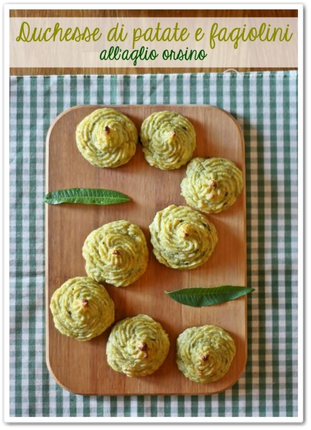 Duchesse di patate e fagiolini