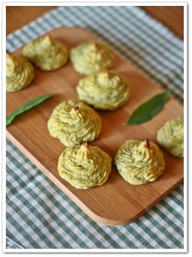 Duchesse di patate e fagiolini3