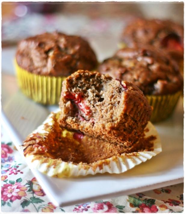 Muffins lino prugne semi di chia