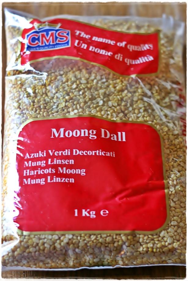 Moong dal - busta