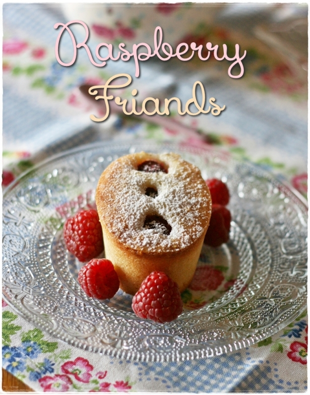 Raspberry friands5