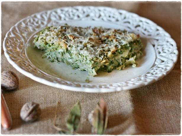 Tagliatello d'orzo gratinate con broccolo fiolaro3