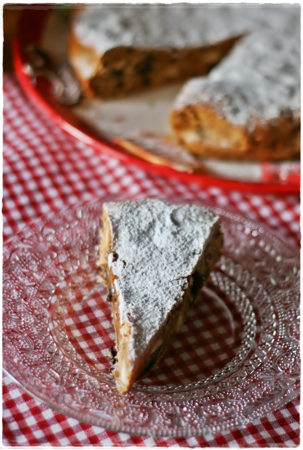 Torta miele e frutta secca2