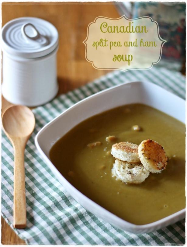Split pea and ham soup3