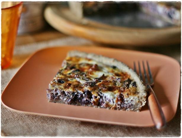 Torta salata con radicchio e stracchino2