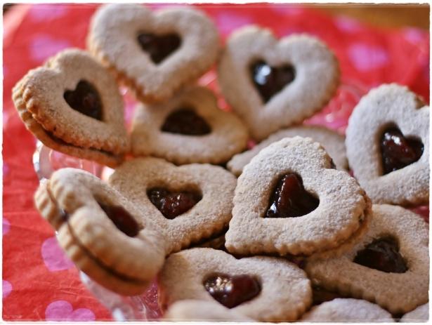 Linzer heart cookies2