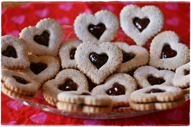 Linzer heart cookies3