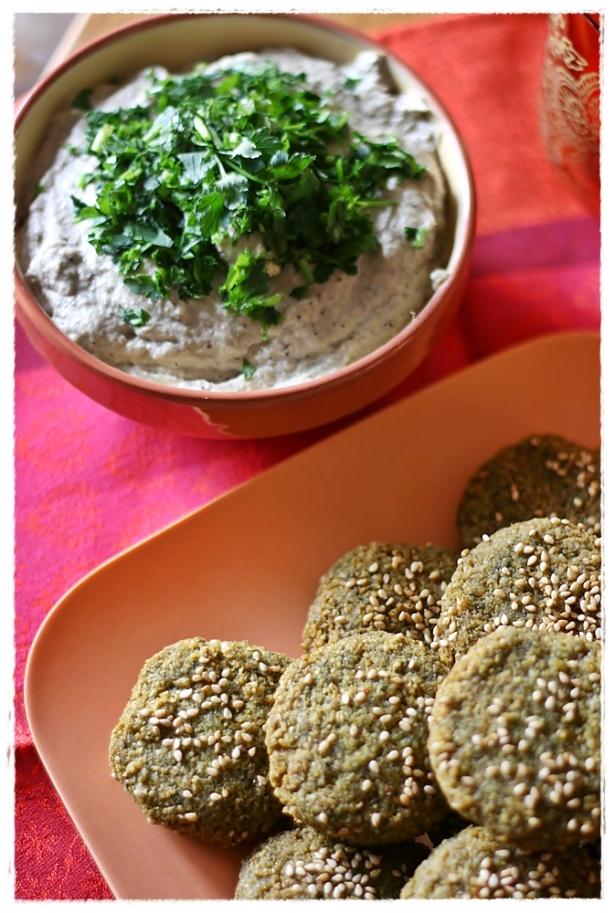 Falafel - Baba ghannouj 3