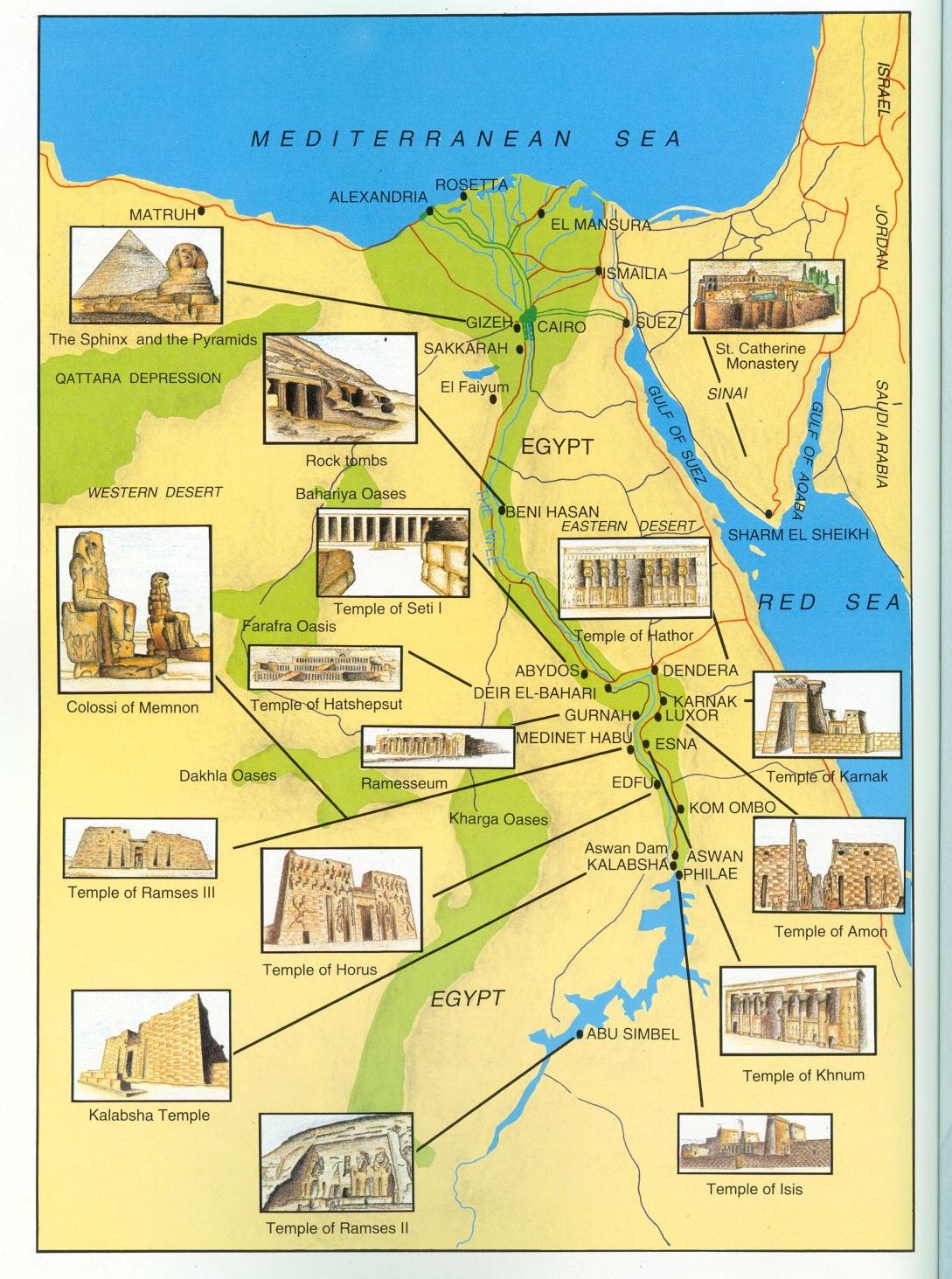 Egitto Cartina Turistica.Ahlan Wa Sallan Fi Misr Benvenuti In Egitto Iniziamo Con Un Po