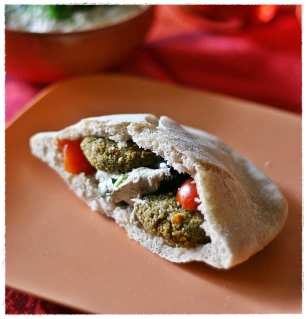 Pita con falafel3