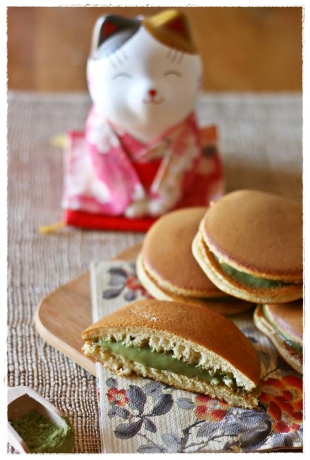 Dorayaki al matcha2