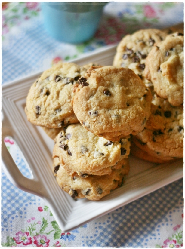 Choc chip cookies4